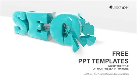 Seo 3d Symbol Powerpoint Templates 3d Powerpoint Templates Free For Mac