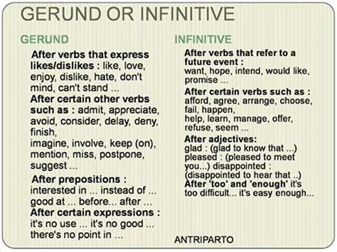 verb pattern gerund or infinitive verb patterns ing or infinitive exercises pdf english
