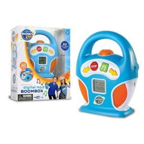 Kid Toys Box 10 discovery mp3 boom box toys