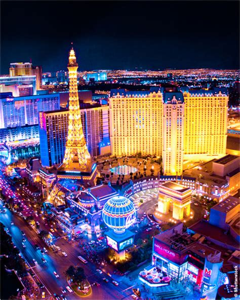 Entertainment Economy Lights Up The Desert Iip Digital Lights In Las Vegas
