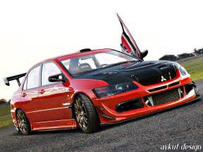 Mitsubishi Evo 8 Mitsubishi Lancer Evolution 8 Modified Image 186
