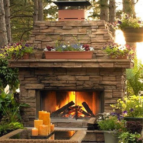 Outdoor Fireplace Diy by Diy Build Outdoor Fireplace When We Our Place
