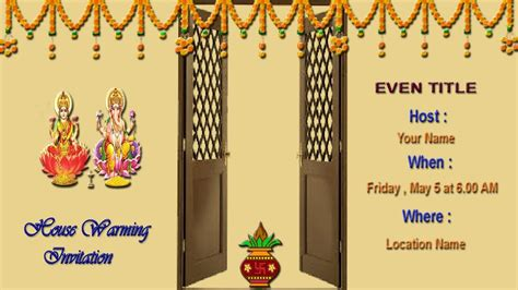 how to design houses how to create house warming invitation card in photoshop in tamil youtube