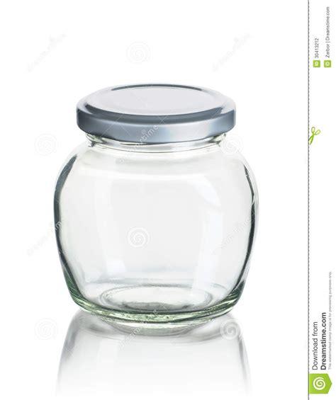 Glass Kitchen Canister empty jam jar stock photography image 30413212
