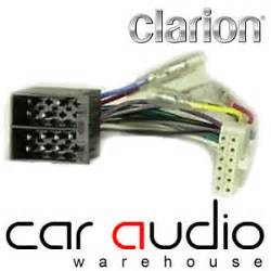 clarion 12 pin iso unit replacement car stereo wiring harness ct21cl01 ebay