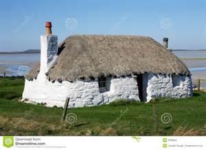 crofter s cottage hebrides royalty free stock images