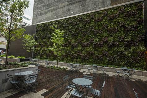 outdoor living walls