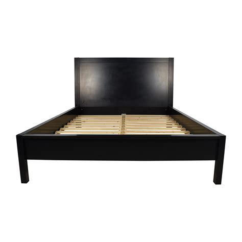 black bed frame queen 81 off ikea ikea malm king size bed beds