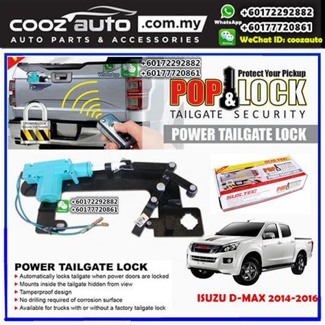 Isuzu Dmax Door Lock Depan Lock Door Front Manual 1 isuzu dmax d max 2014 2016 sustec pod lock power