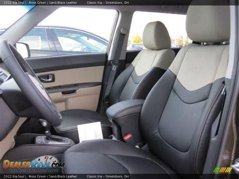 Kia Soul Leather Seats Sand Black Leather Interior 2012 Kia Soul Photo 12