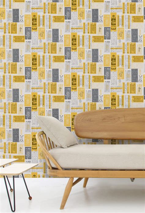 quirky wallpaper for walls uk wallpaper wednesday mini modern s hold tight vintage bus