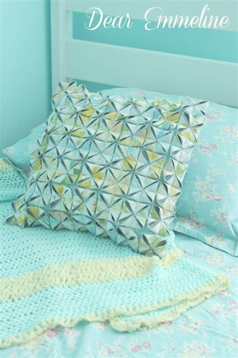 How To Make A Paper Pillow - origami pillow tutorial
