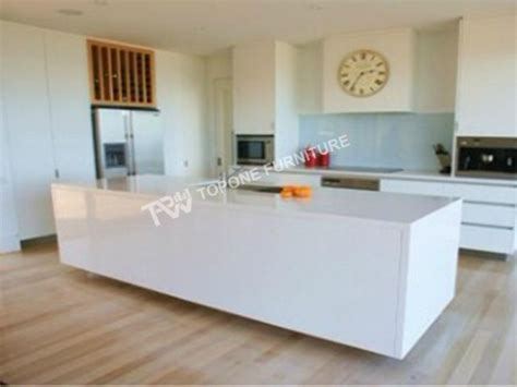 kitchen bench surfaces corian solid surface glacier white kitchen bench top tpkt0017 of item 49743312