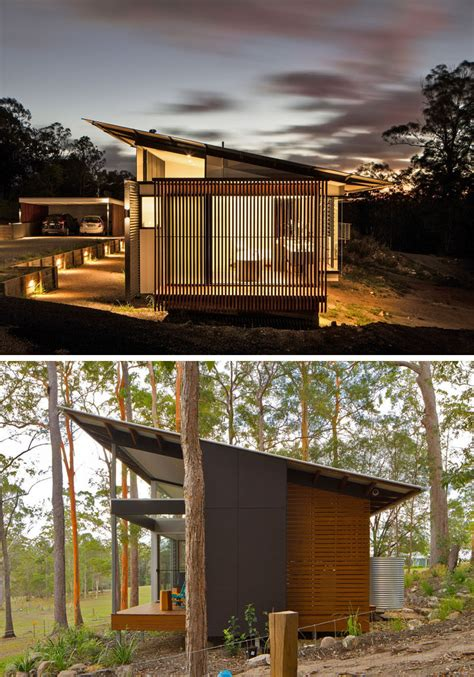 modern houses pictures 16 exles of modern houses with a sloped roof contemporist