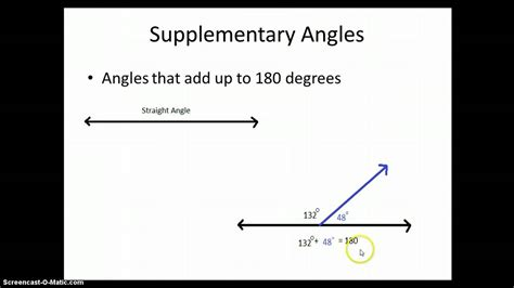 supplementary in angles supplementary and complementary angles www imgkid