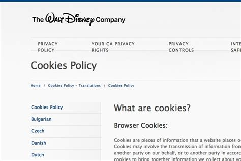 Cookie Policy Template by 2018 Cookies Policy Template Generator