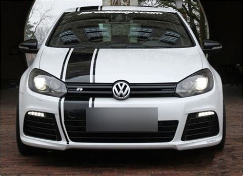 Autoaufkleber Vw Polo by Auto Sticker Car Decal Sports Racing Stripe For Golf 6