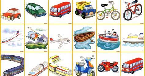 imagenes infantiles medios de transporte lamina de medios de transporte mis im 225 genes escolares