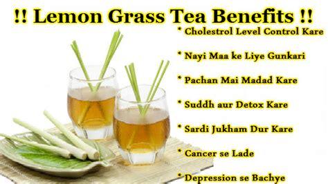 Lemongrass Tea Benefits - Tajgi Laye aur Vajan Bhi Ghataye Lemongrass Benefits Cancer