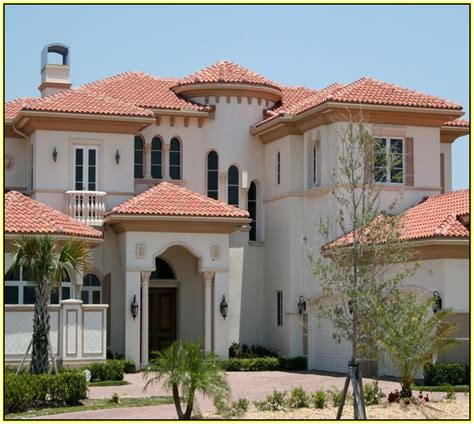 tile roof house plans tile roof home plans