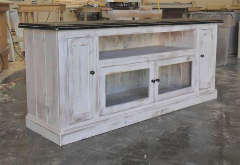 shabby chic media cabinet entertainment console cabinet tv stand reclaimed