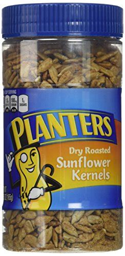 Planters Dry Roasted Sunflower Kernels 6 Pack Each 5 85 Planters Sunflower Seeds