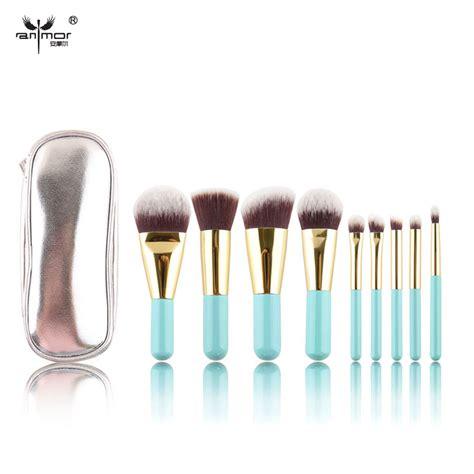 Sale 02bw Mac Powder Brush Make Up aliexpress buy sale 9 pcs makeup brushes synthetic hair makeup brush set lovely