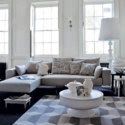 Gray Sofa In Living Room Relaxed White Living Room Modern Living Room Housetohome Co Uk