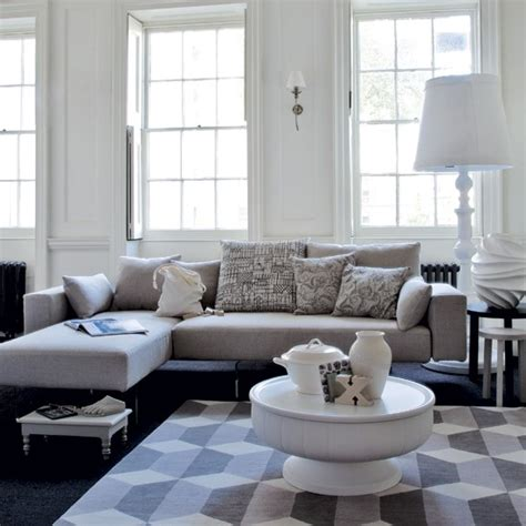 white and grey living room relaxed white living room modern living room