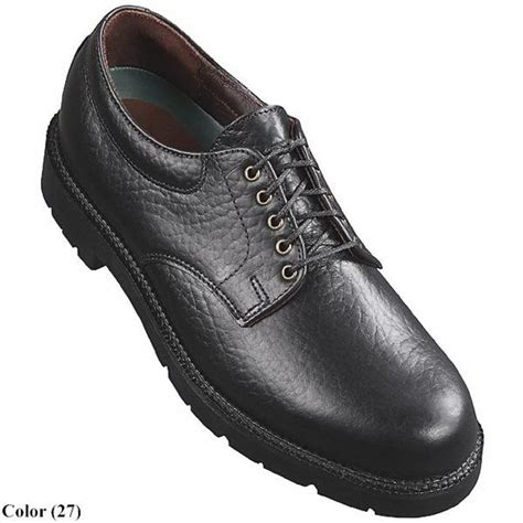 h s trask gunstock bison leather oxford shoes for