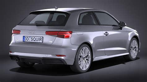 audi a3 2017 3 door squir