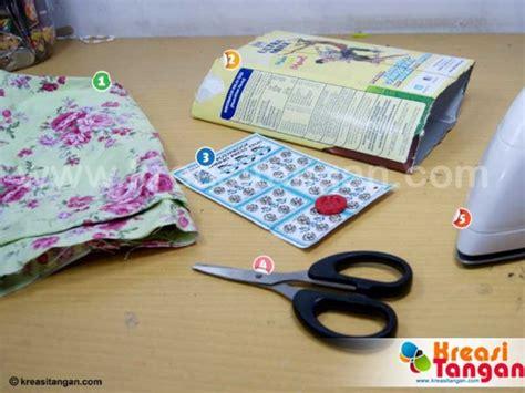 cara membuat robot untuk anak sd kreasi dompet dari kotak susu kreasi tangan