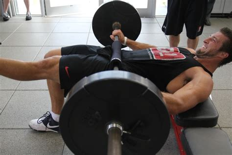 tim tebow bench press is your training program design what you think it is