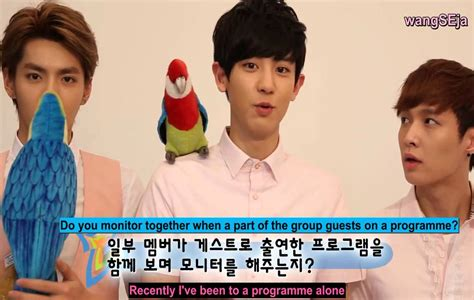 exo eng sub eng sub ivy club 14ss making film exo interview youtube