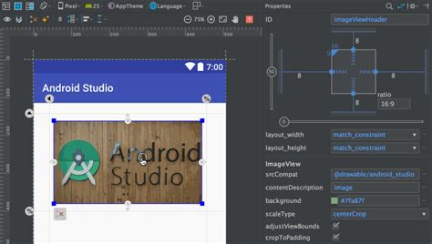 layout android ratio what s new features in android studio 2 3 187 tell me how