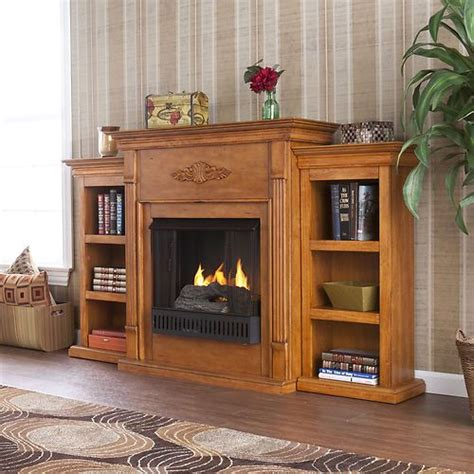 this is it electric fireplace with cabinet bookcases
