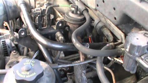 ford egr dpfe sensor engine repair light youtube