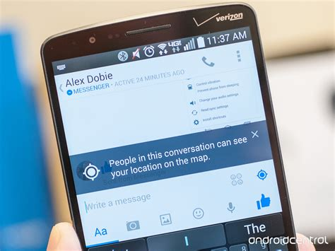 how to keep android how to keep messenger from your location android central