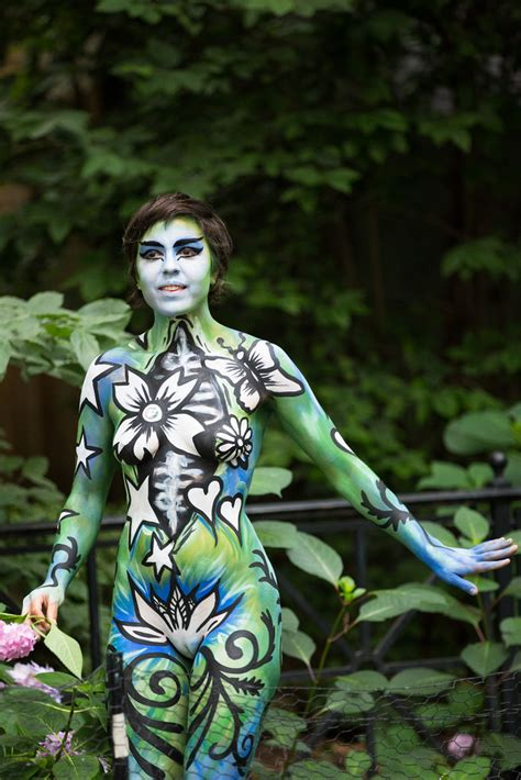 Anual Body Painting New York 2016 | nyc body painting 2016 the 3rd annual new york city