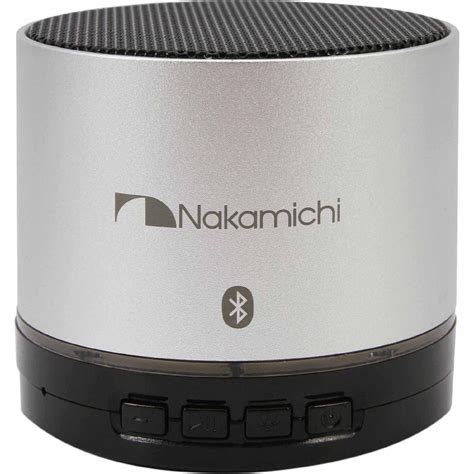 Speaker Bluetooth Nakamichi nakamichi bt05 bluetooth speaker silver shop your way shopping earn points on tools