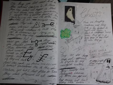 Gravity Perks Terms Of Service V1 3 9 gravity falls journal replica ghosts by gravityfalls08 on deviantart