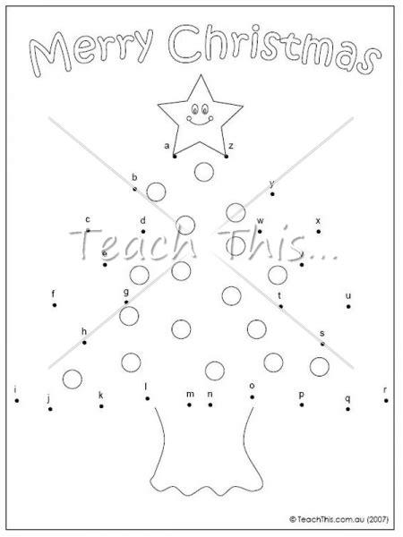 printable christmas tree dot to dot dot to dot christmas worksheets new calendar template site