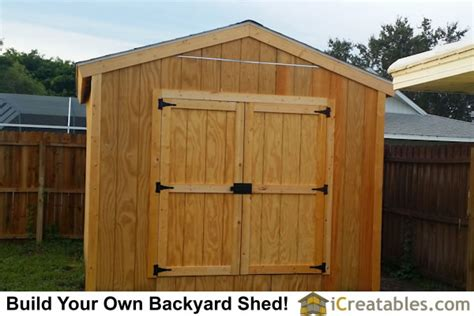 10x12 Sheds by 10x12 Shed Plans Gable Shed Storage Shed Plans