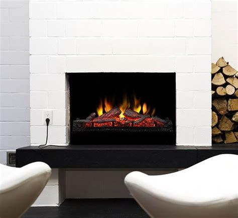 contemporary fireplace inserts muskoka 24 in electric fireplace insert log set mfi2500