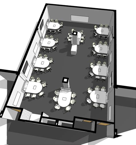 classroom layout for training michigan state university real spaces floor plan http