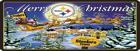 steelers christmas wallpaper wallpapersafari