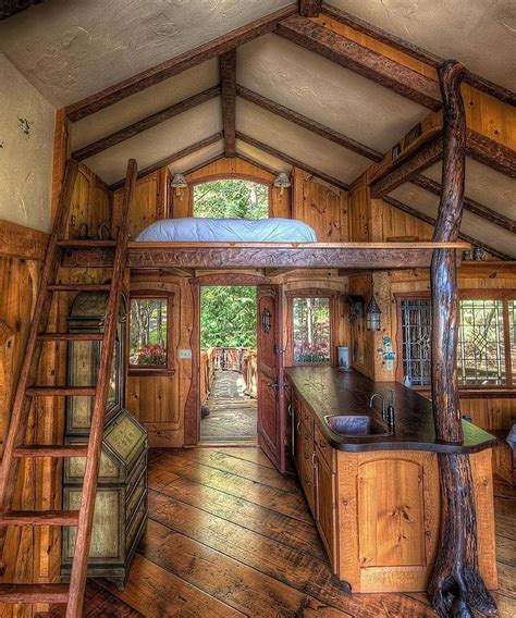fairytale treehouse home design garden architecture