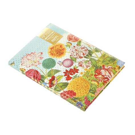a4 patterned notebook buy pip studio pip flowerland a4 notebook amara