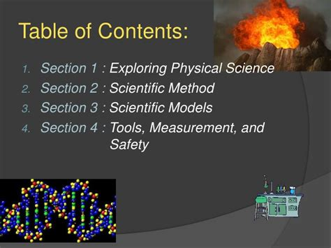 chapter 3 section 4 providing a safety net introduction to science 3 1 exploring physical science