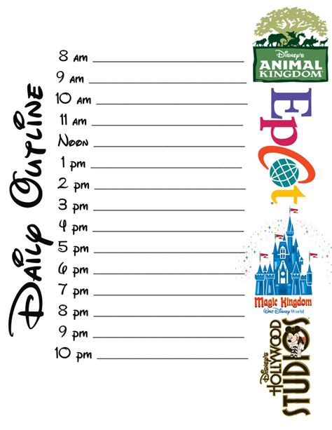 free printable disney planning sheets disney planning sheets the dis disney discussion forums